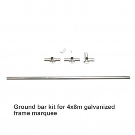 Ground Bar Kit For 4m X 8m Galvanized Frame Marquee