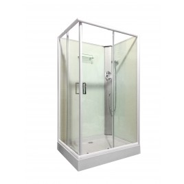 Shower Screen Cubicle Enclosure W/T Base Bathroom 1200x900x2300mm 8226F