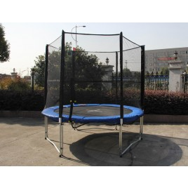 6ft Trampoline & Enclosure Set with Safety Net pad Ladder