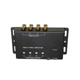 Car 1 To 4 Video Signal Booster Split Amplifier