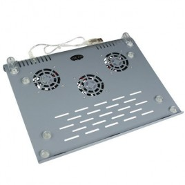 Powered Aluminum Laptop Cooling Pad