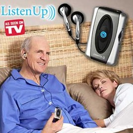 Listen Up Personal sound amplifier