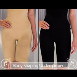 Comfort Slimming Undergarment Body Shaper Size L 2Pcs Black and Beige  (Free Shipping)