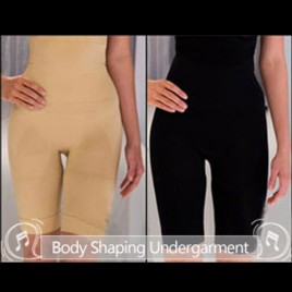Comfort Slimming Undergarment Body Shaper Size XL 2Pcs Black and Beige  (Free Shipping)