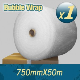 1 x Bubble Wrap 750mm X 50m