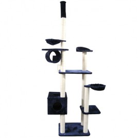 Cat Scratching Posts Cat Tree Corner Scratch Pole Cubby House 7 Level 225cm