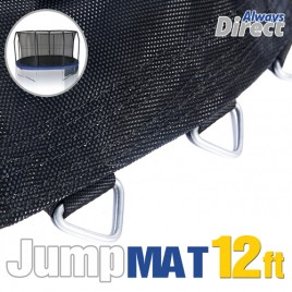 Replacement Jumping trampoline Mat  for 12 Feet Trampoline with 72 pcs V-ring for L178 mm spring