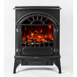 """16"""" Free Standing Electric Fireplace Heater 02"""