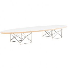 Eames Elliptical ETR Coffee Table White