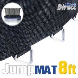 Replacement Jumping Mat for 8 Feet Trampoline with 48 pcs V-ring For L140mm spring