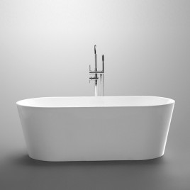 Bathroom Free Standing Bath Tub 1500x750x600 Thin Edge Freestanding (Allure-1500)