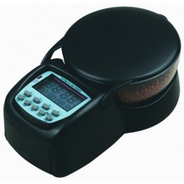 99 Days Automatic Fish Feeder with Anti Jamming - Black