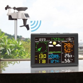 Solar WiFi Wireless Weather Station with Display 0835 Free Shipping