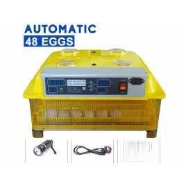 Janeol Fully Automatic 48 Eggs Incubator Kit W/ New Egg Tray
