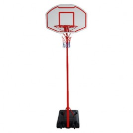 Portable Basketball Ring System Height Adjustable (2.1m-2.6m) with Stand Ring Net