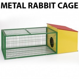 Metal Rabbit Cage Small