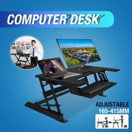 Height-adjustable Computer & Laptop Standing Desk