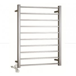 Electric Heated Bathroom Towel Rack / Rails -100w (10 Rung)