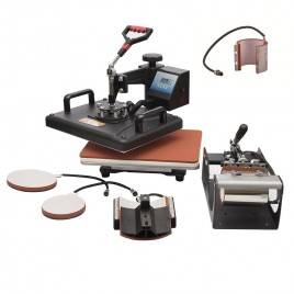 6 in 1 Combo Heat Press Machine Sublimation Printer Heat Printing