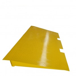 Steel Cargo Shipping Container Ramps 7000kg 225x125cm