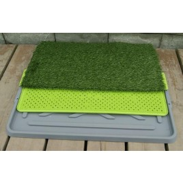 Indoor Pet Potty Dog Training Pad Toilet Loo 3 Tier -Dogs-Cats