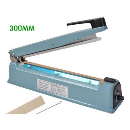 Iron Body Impulse Sealer 300mm Electric Plastic Bag Heat Sealing Machine