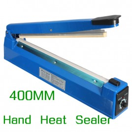 "16"" 400MM Heat Sealing Hand Impulse Sealer Machine"