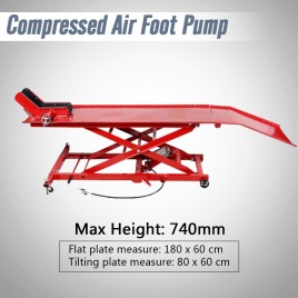1000lbs Compressed Air Motorcycle Lift Bike Platform table
