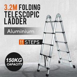 3.2M Multi-Purpose Alloy Telescopic Aluminium Ladder