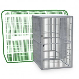 "Side Door for 85""x61"" Walk In Aviary bird cage - 40""x48"""