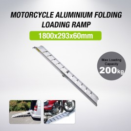 Aluminium Motorcycle Foldable Loading Ramp 1.8m for QUAD ATV Motorbike Trailer (Pre-order)