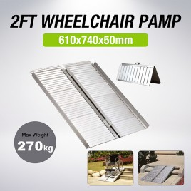 2FT Portable Aluminium Folding Wheel Chair Ramps Loading Scooter Max 270kg (Pre-order)