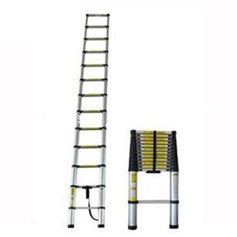 12 Steps Telescoping Ladder Telescopic 385cm