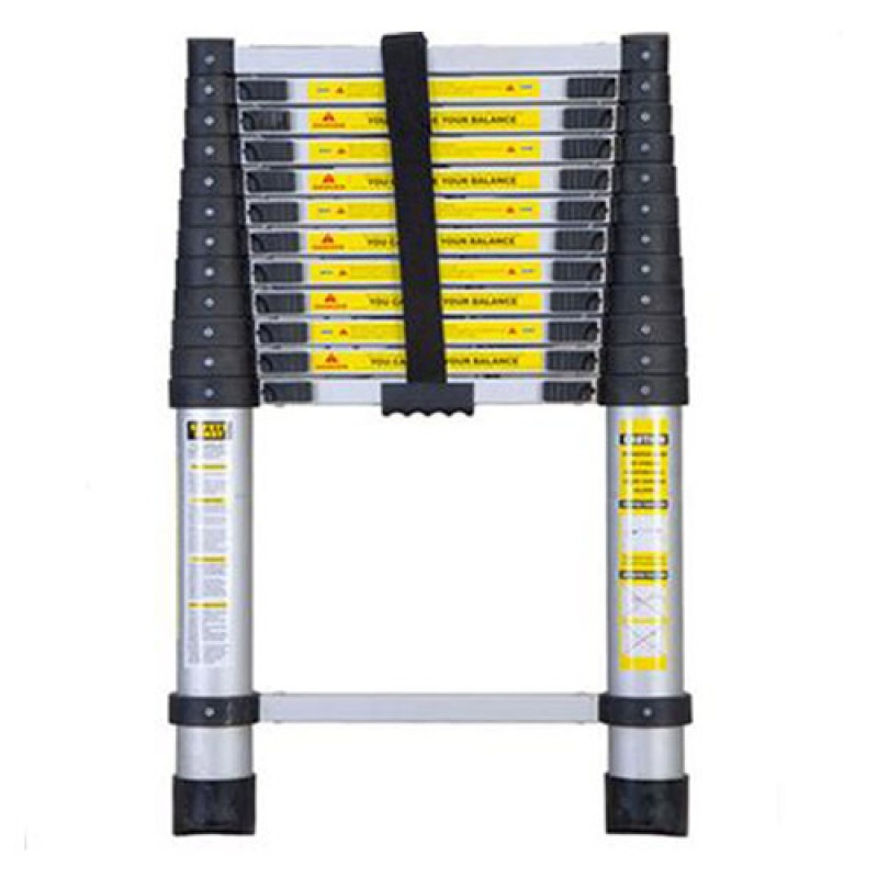 Telescopic Ladder 380cm 13 Steps Telescoping