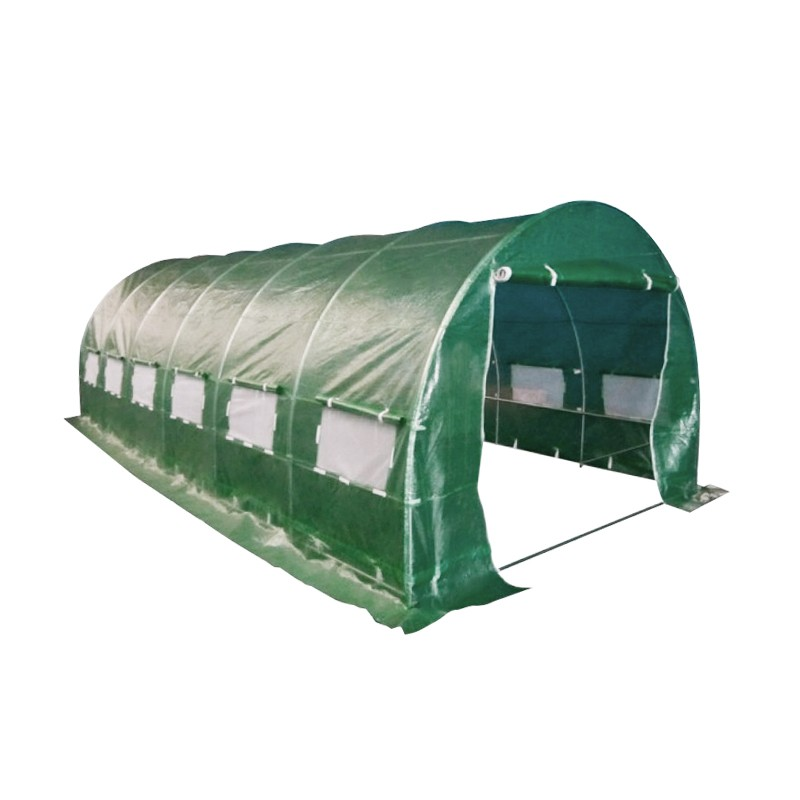 6m x 3m Walk in Galvanised Frame Polytunnel Greenhouse : AD GR36101 from alwaysdirect.com.au size 800 x 800 jpeg 55kB
