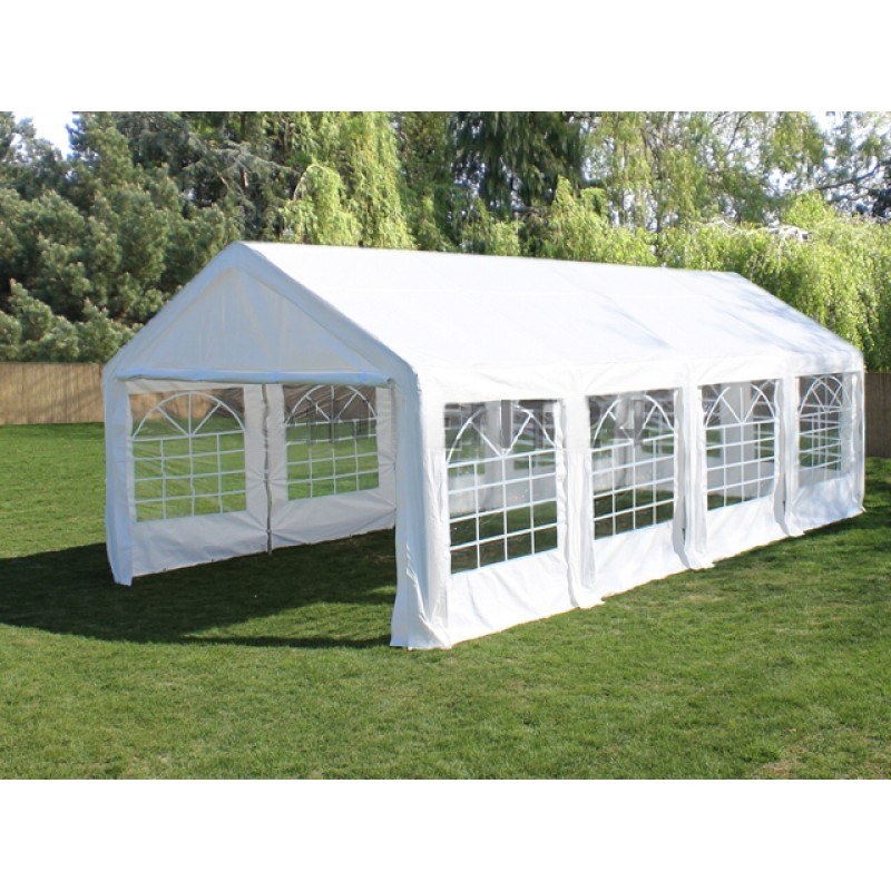 Commercial Grade Galvanised Frame Wedding Marquee 8x4m