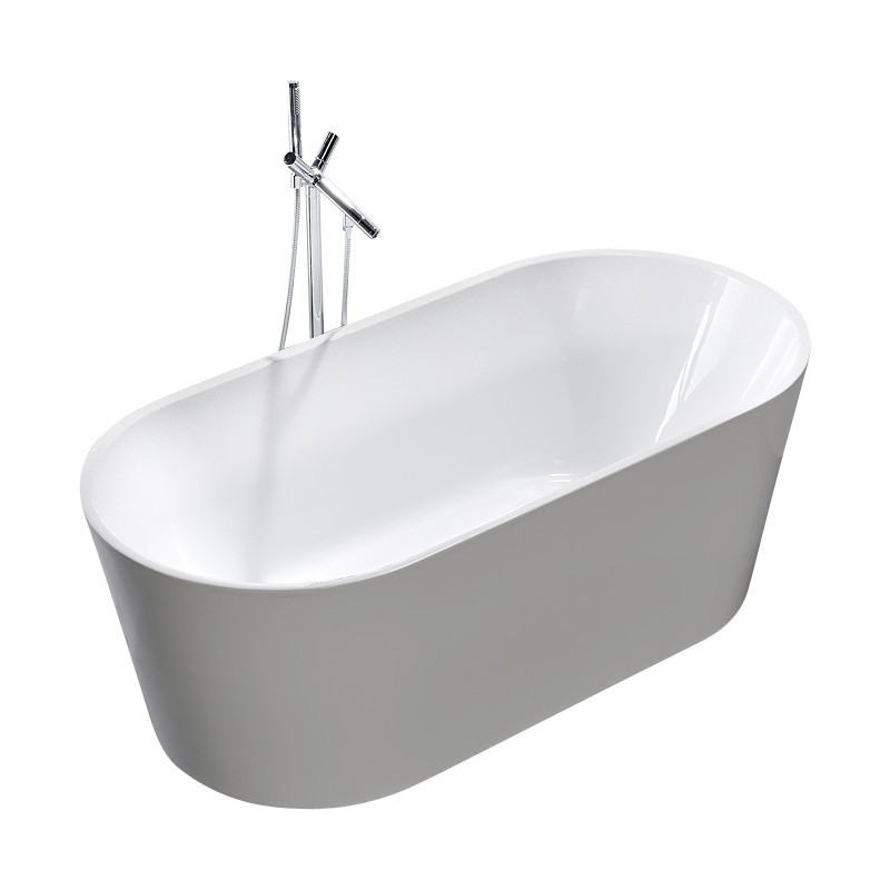 Bathroom Free Standing Bath Tub 1500x750x600 Thin Edge