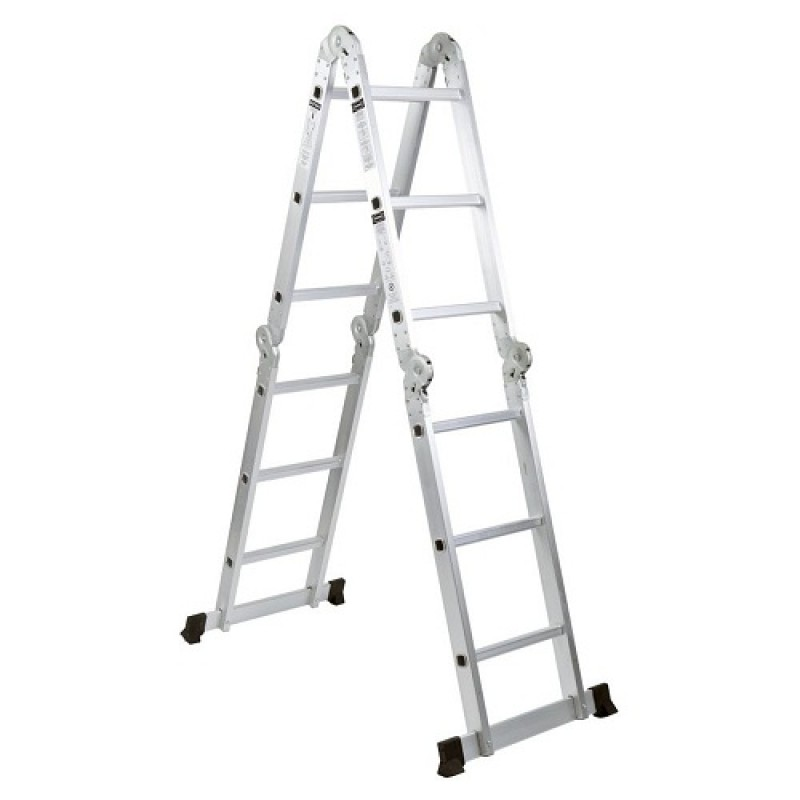 Adjustable Aluminium Extension Multi Purpose Ladder 4 7