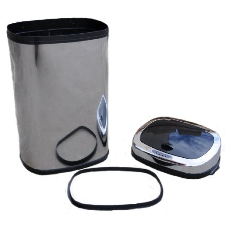 Stainless Steel Sensor Rubbish Bin Set