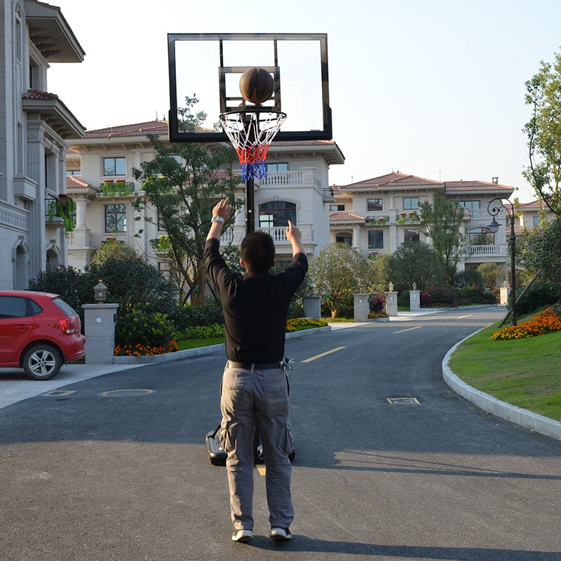 47 Inch Portable Basketball Hoop And Stand Height