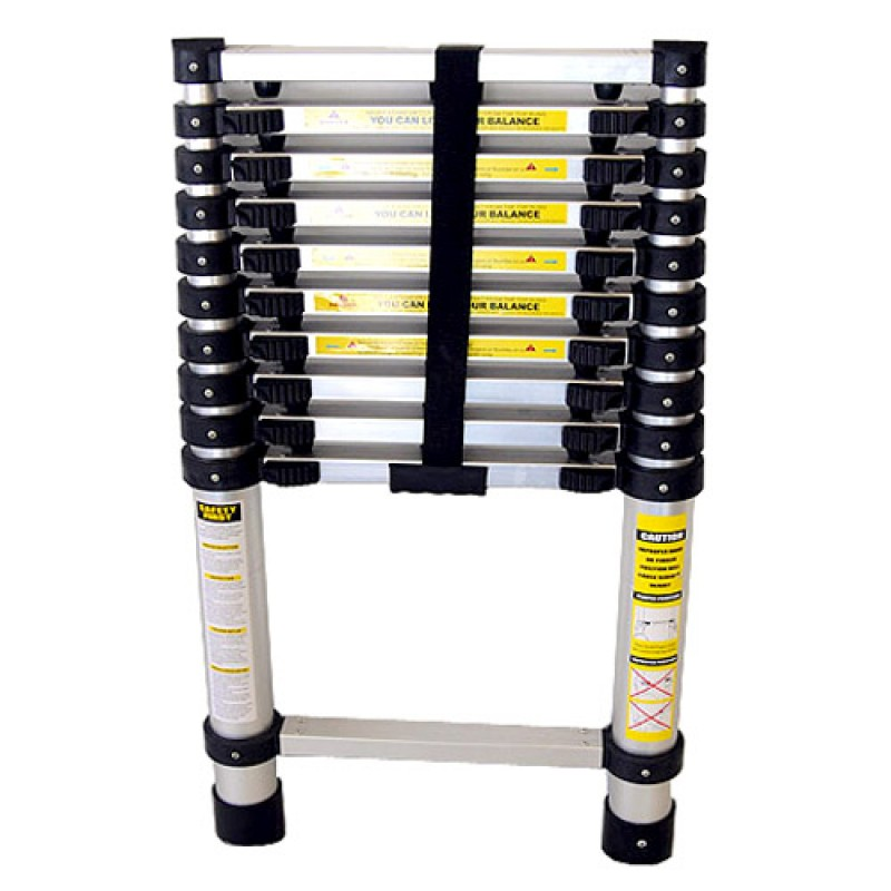 10 Steps Telescoping Ladder With Strap