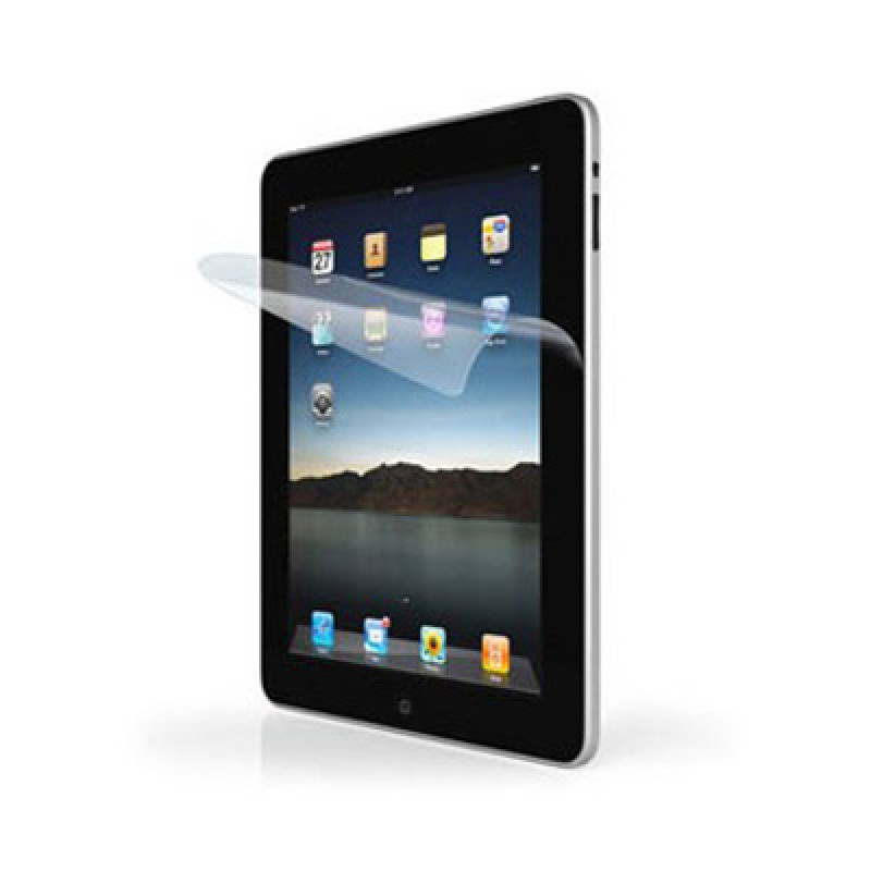 Screen Protector for Apple iPad LCD Screen with Cleaning Cloth