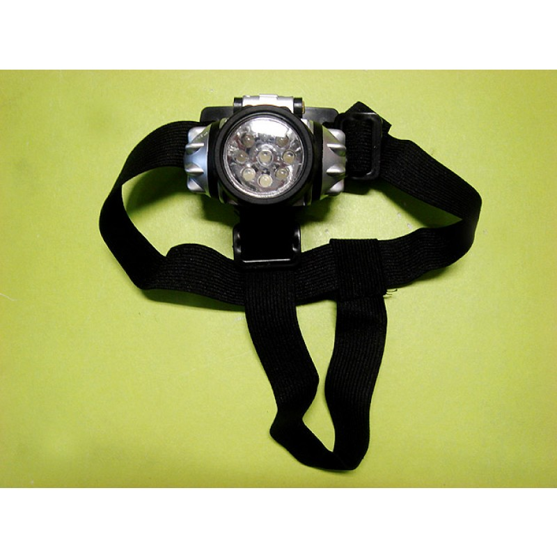 Hands Free 9 Led Headlight Led Light Sports Amp Outdoors