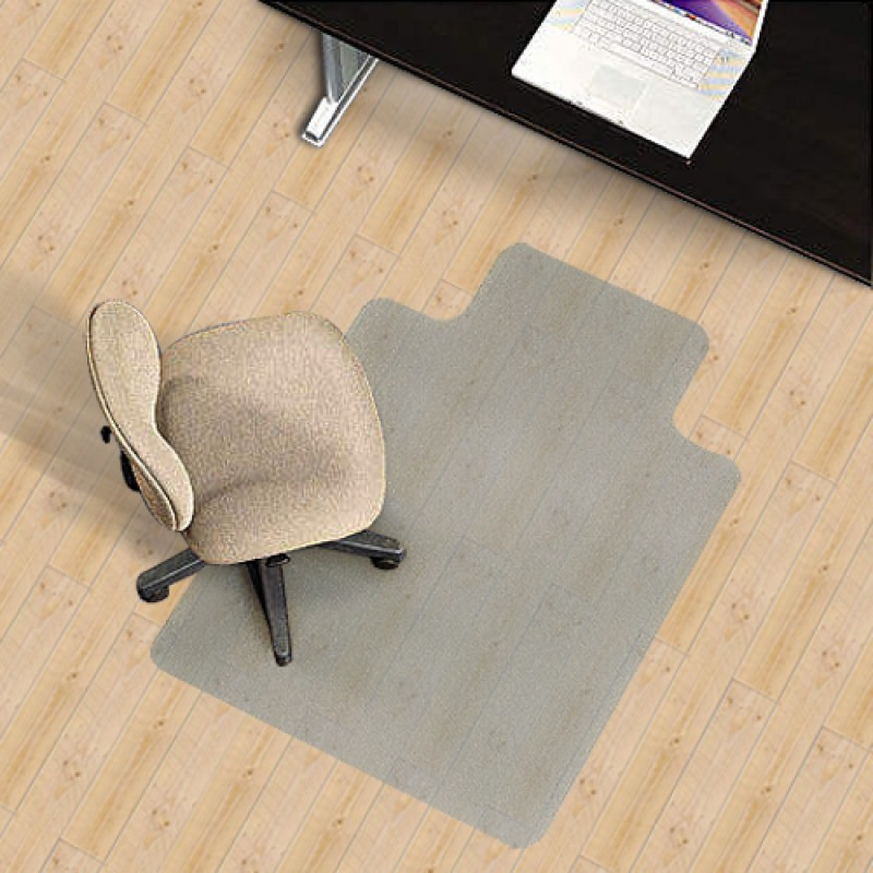 PVC Office Chair Mat for Hard Floors 135x114cm