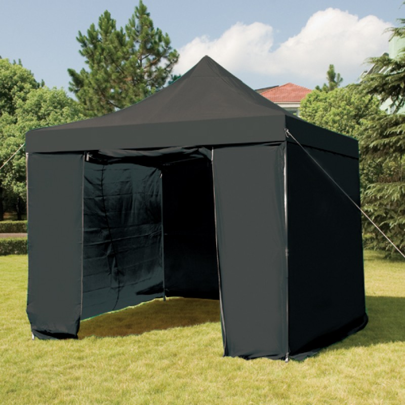 Folding gazebo outdoor furniture 3mx3m folding gazebo for Outdoor furniture gazebo