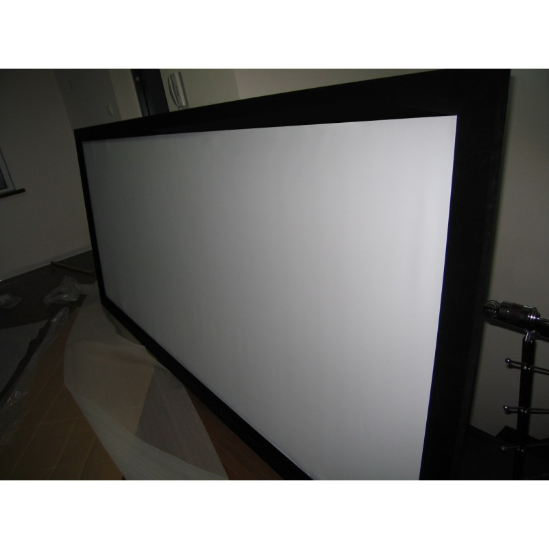 100 Quot Tv Cinema Hd Projector Screen Flat Fixed Frame 16 9