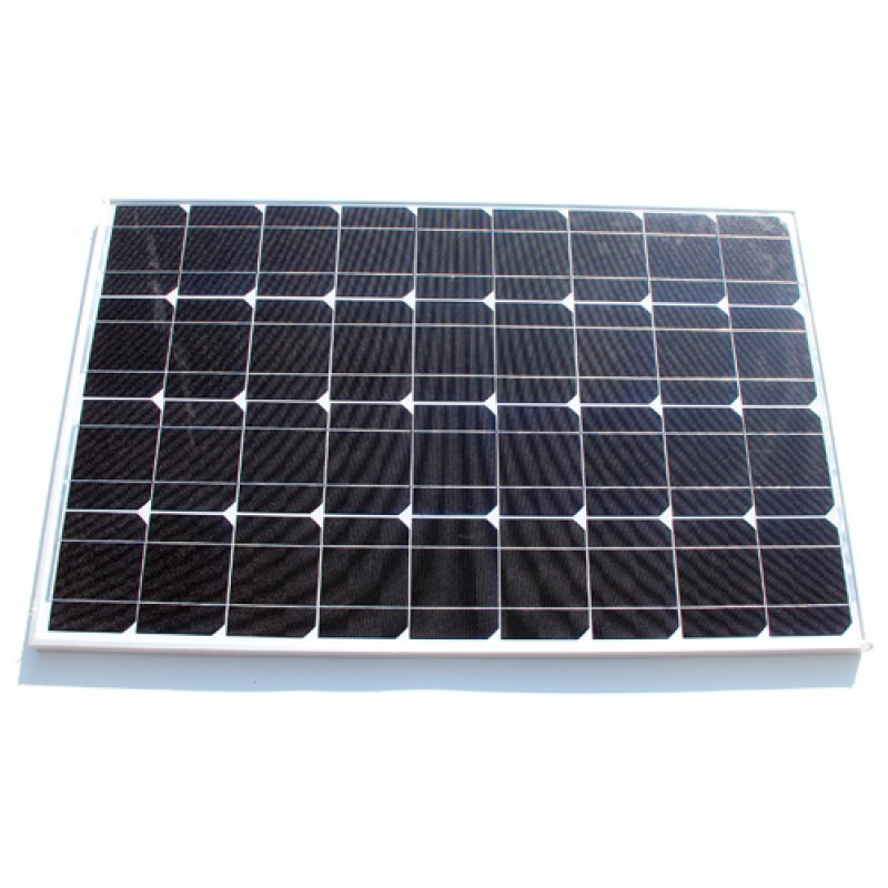Mono Solar Panel Home Power Generator Battery 100W