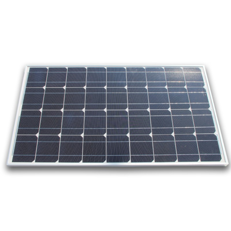 Mono Solar Panel Home Power Generator Battery 120W
