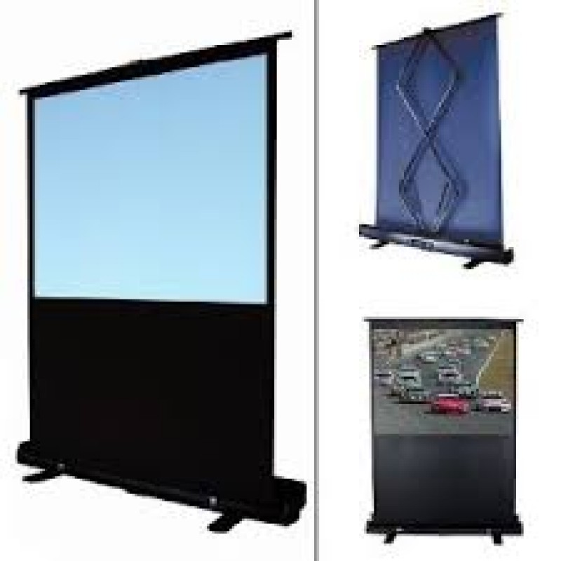 100 Quot Pull Up Portable Office Projection Projector Screen 4 3
